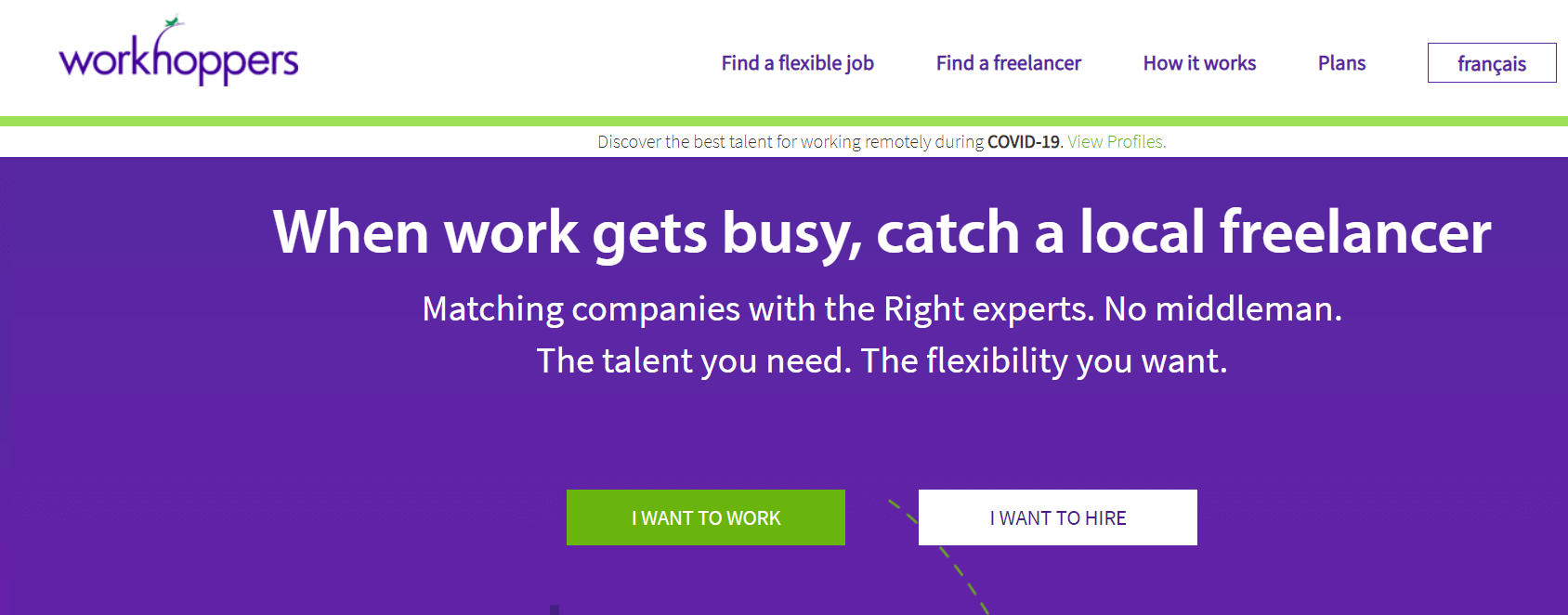 WorkHoppers - Upwork Alternative Sites