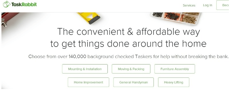 TaskRabbit - Upwork Alternatives