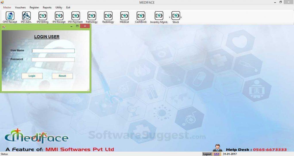 Mediface Hospital Management Software