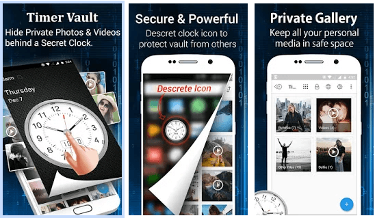 Clock The Vault - best app to hide apps
