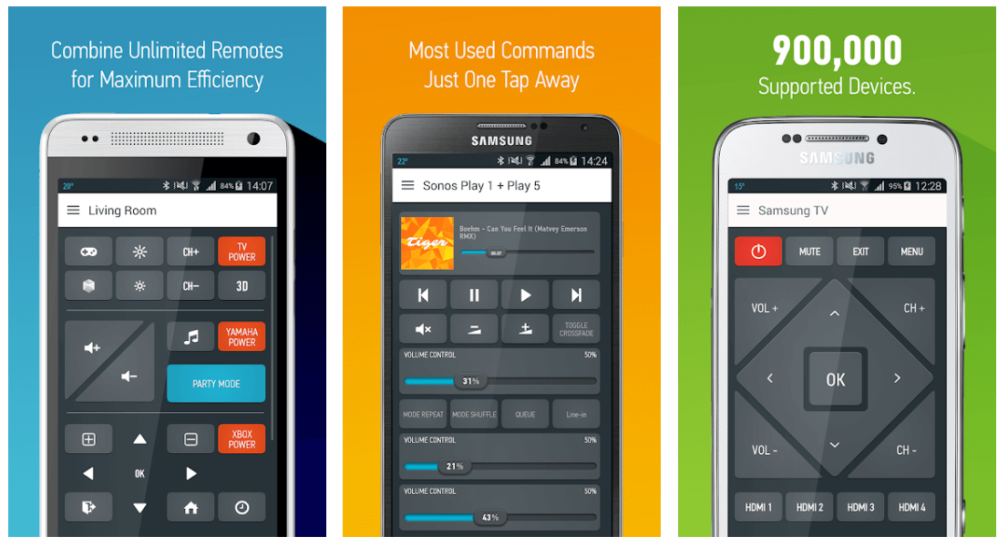 Anymote Universal Remote -Best Remote Control App