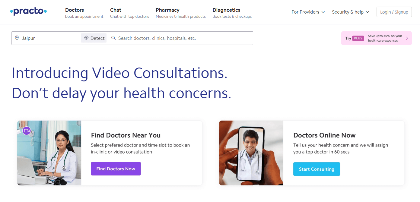 Practo - Best Hospital Management Software