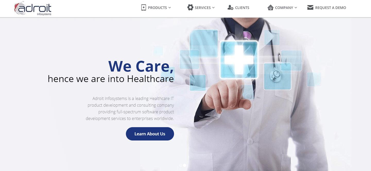 Adroit - healthcare management software