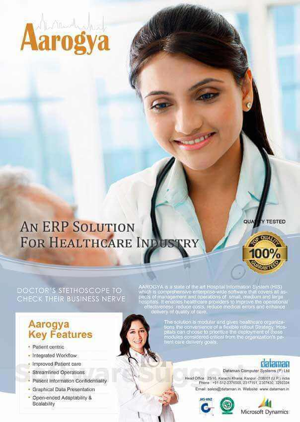 Aarogya - healthcare management software