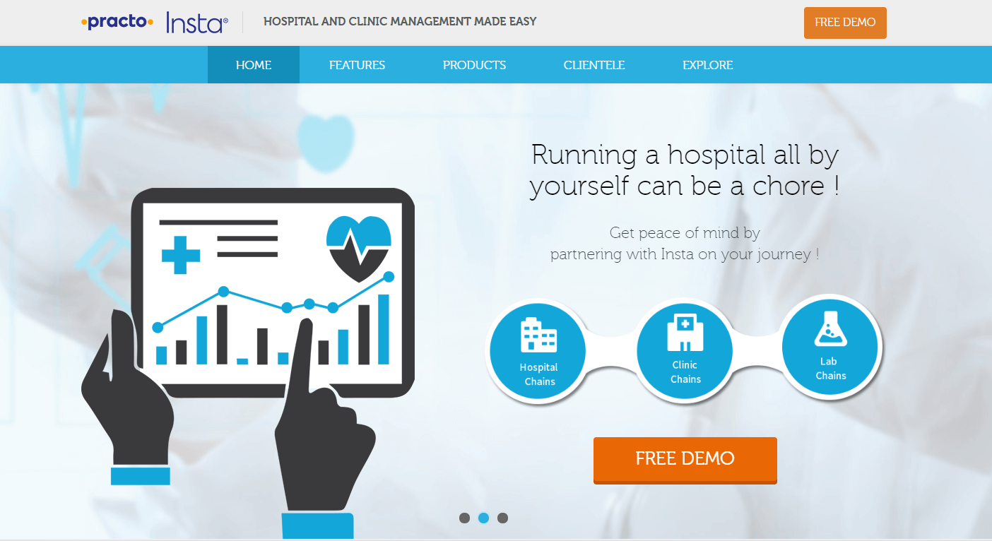 Insta HMS - Best Hospital Management Software