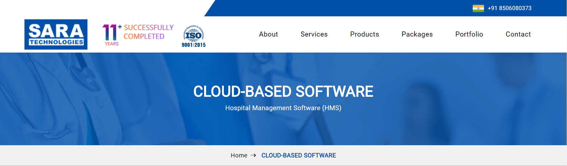 SARA - Best Hospital Management Software