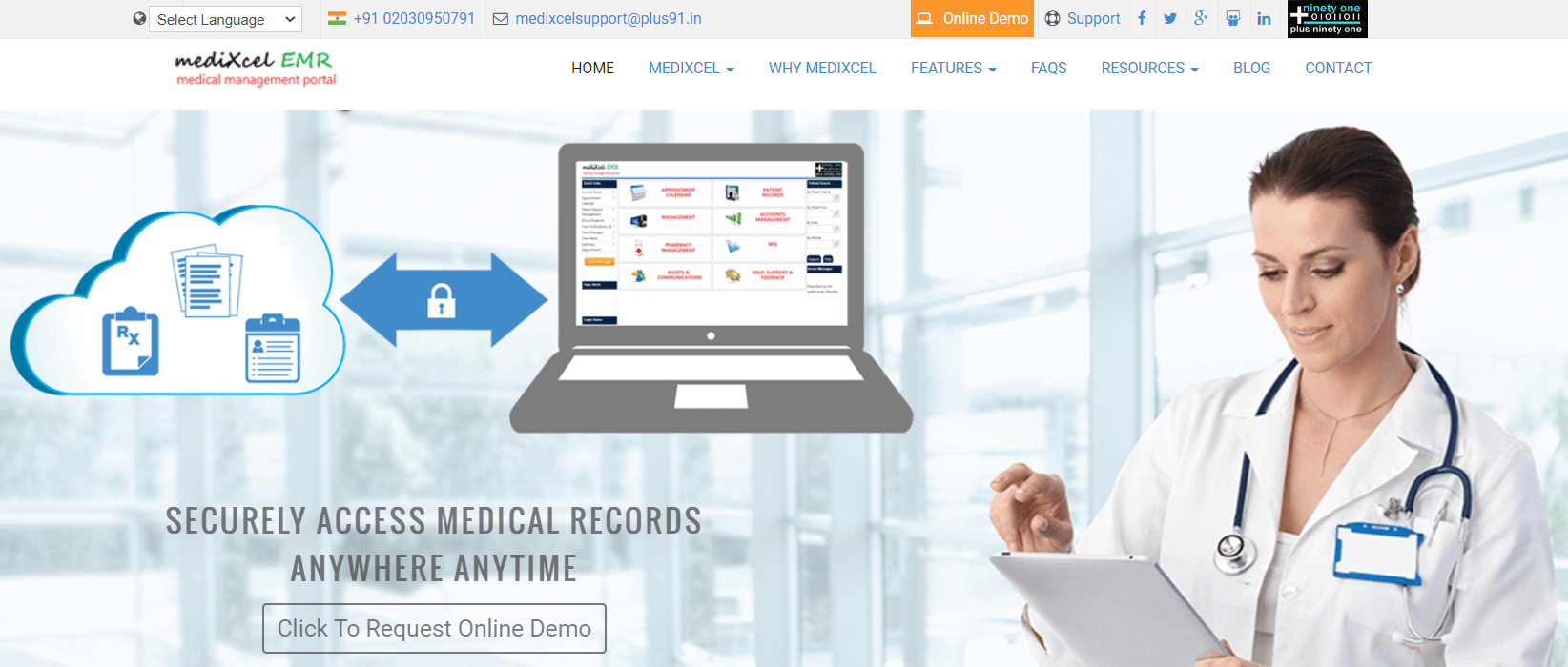 Medixcel EMR - Best Hospital Management Software