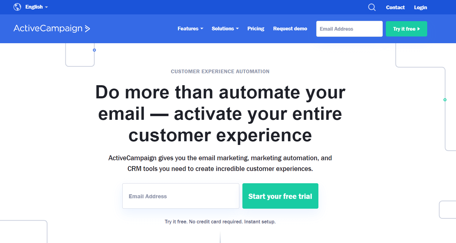 ActiveCampaign - Best Email Marketing Software
