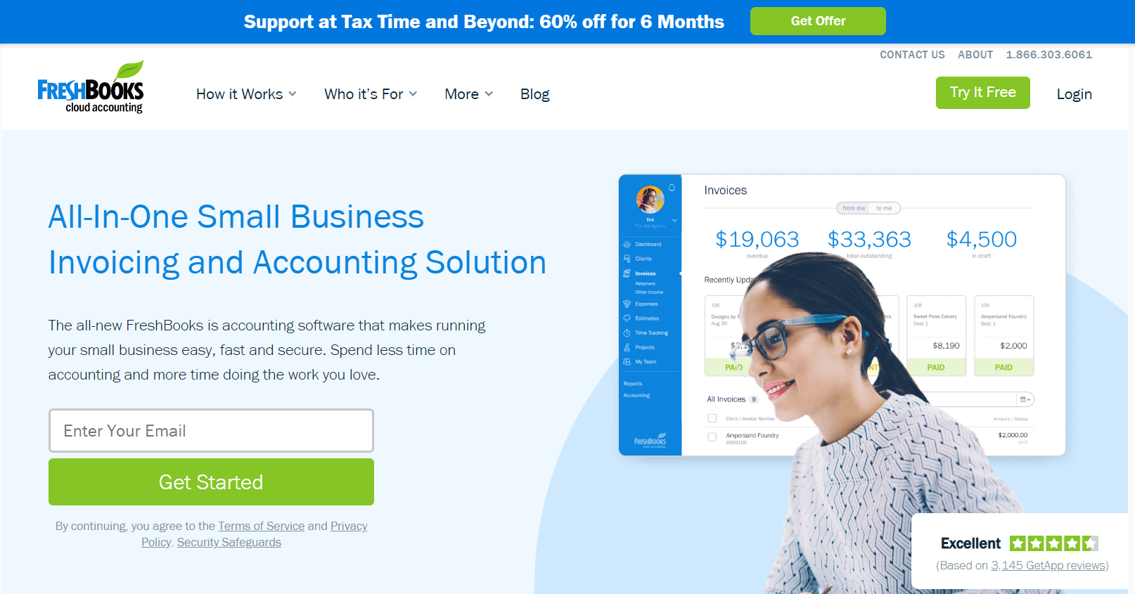Freshbooks - Best Invoice Software For Business