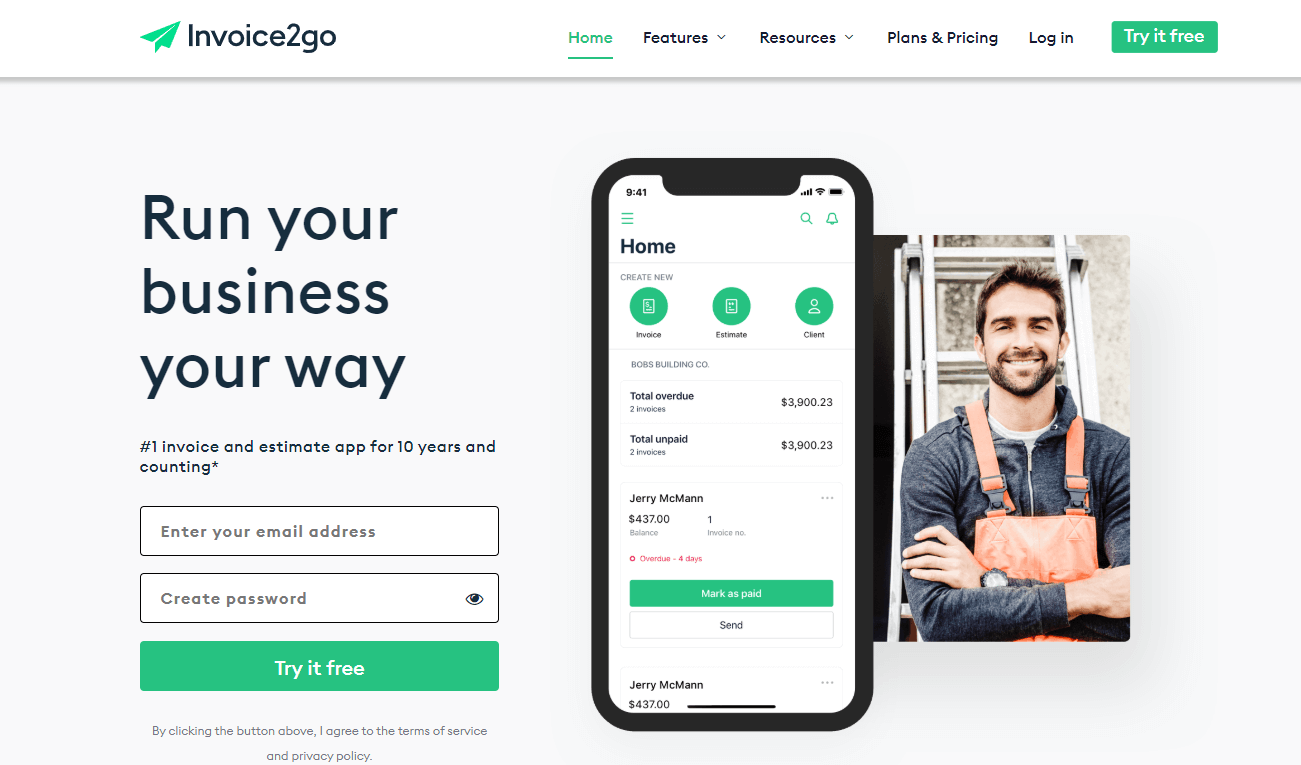 Invoice2go - Best Invoice Software For Business