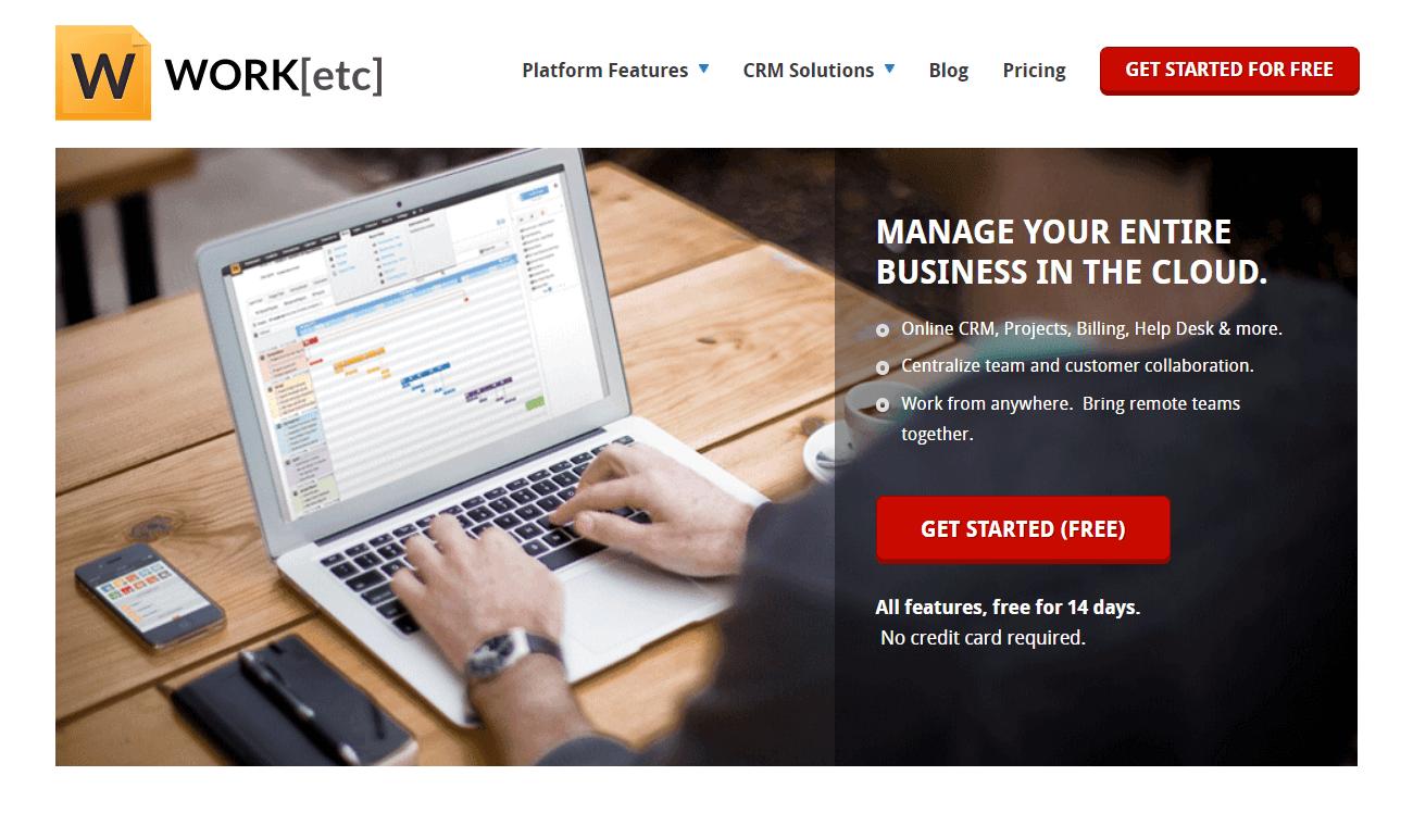 Work[etc] - Cloud Based Billing Software