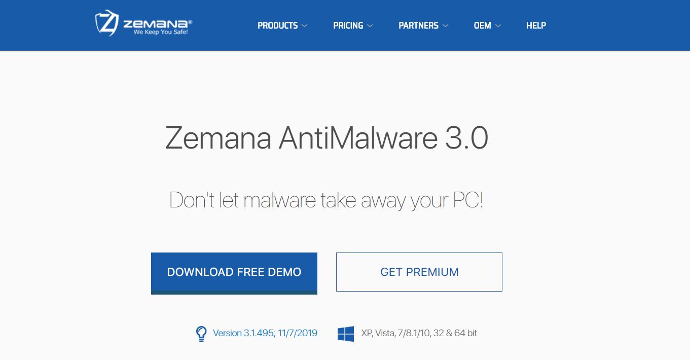 Zemana Antimalware - Best Windows Adware Remover
