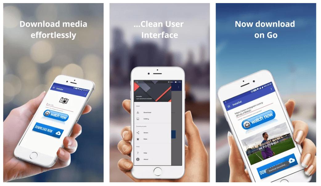 InstaGet - Best Instagram Photos and Videos Downloader