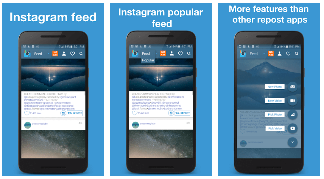 Ezrepost+ - Instagram Videos Downloader