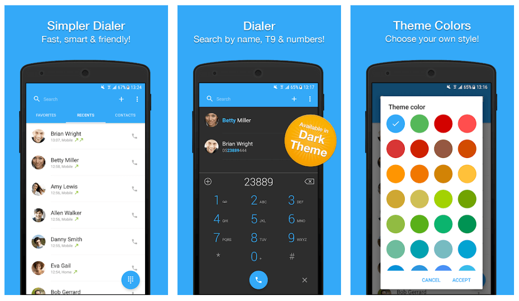 Dialer, Phone, Call Block & Contacts by Simpler - Best Android Dialer App