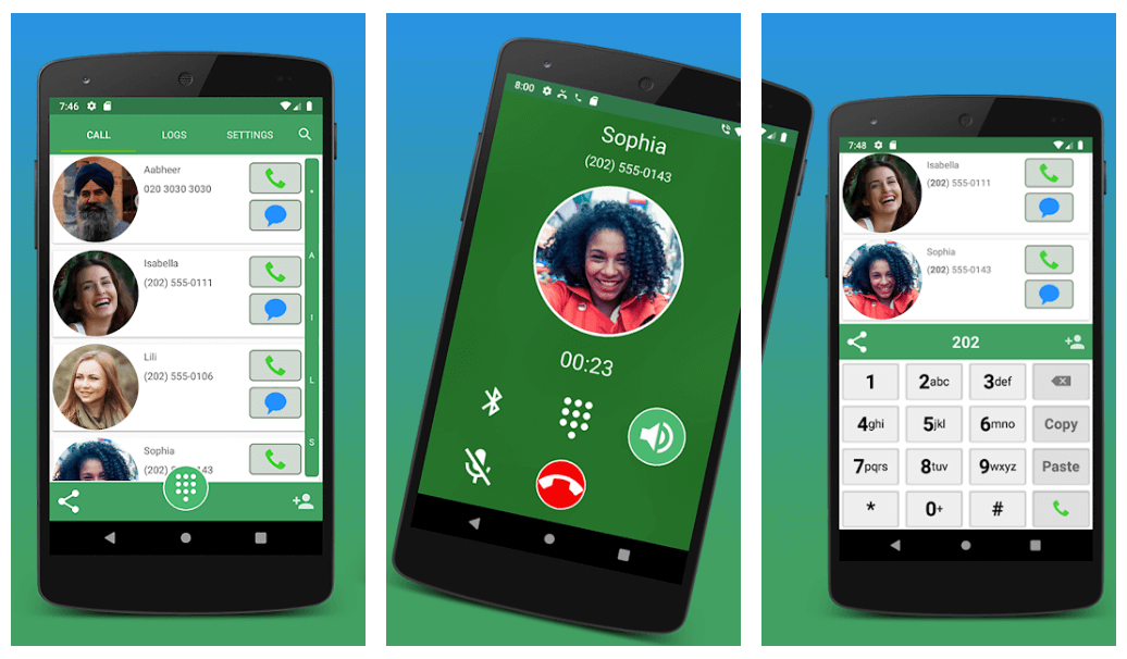 Contacts, Dialer and Phone by Facetocall - Dialer App for Android