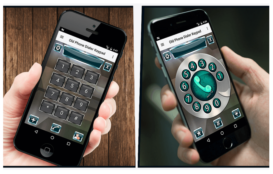 Old Phone Dialer Keypad For Android
