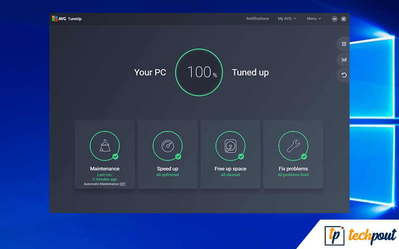 AVG TuneUp Optimizer Software