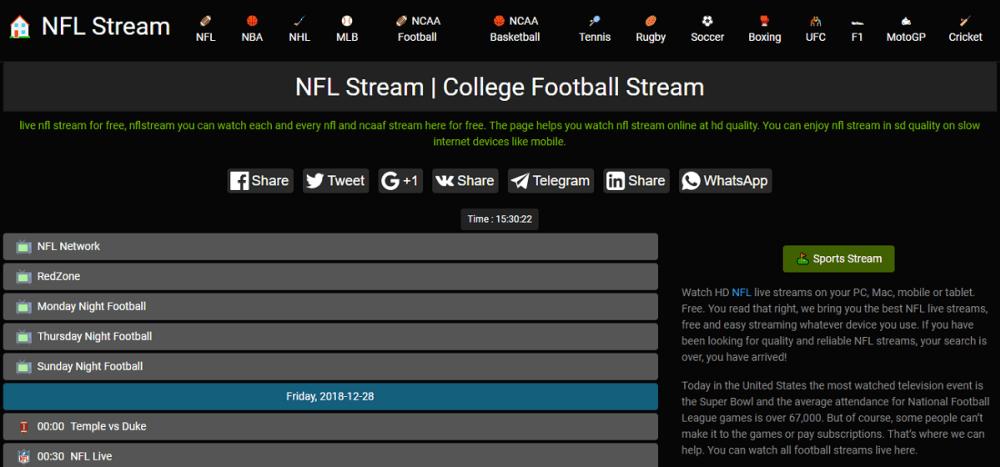 Nfl Stream - Best Sports Streaming Site