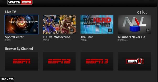 Watch ESPN - Best Sports Streaming Sites