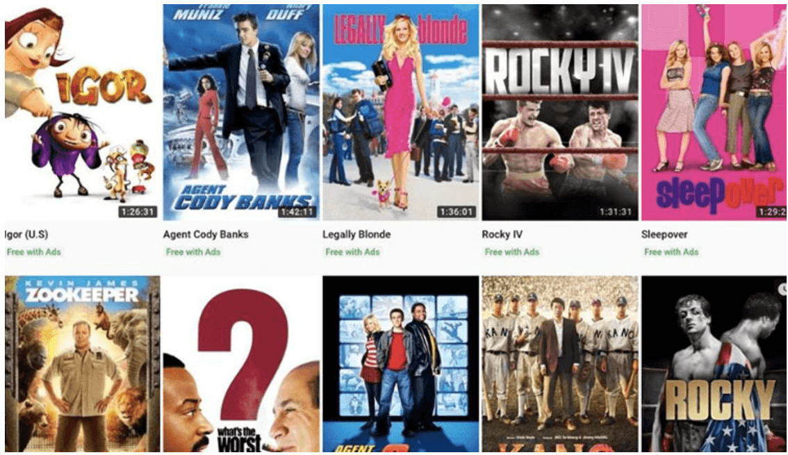 YouTube - Best Free Movie Download Sites