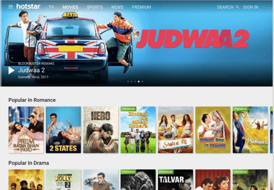 Hotstar- Online Movie Download Site