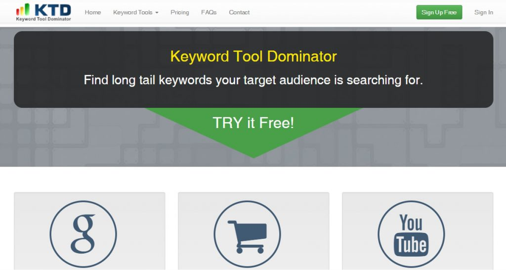 Keyword Tool Dominator For YouTube Keyword Research
