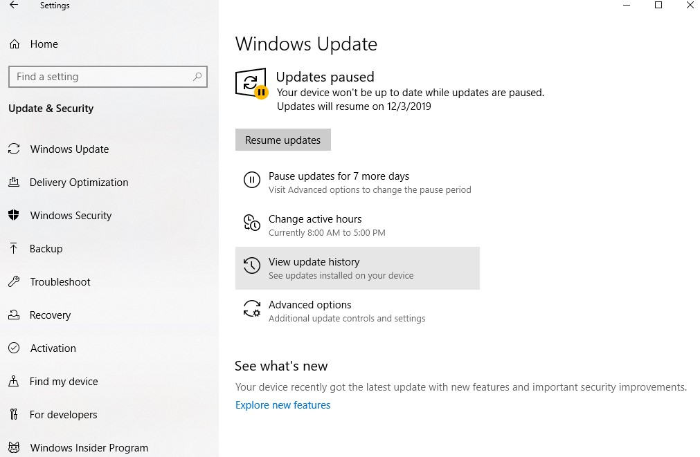 Disable Automatic Driver Updates on Windows 10