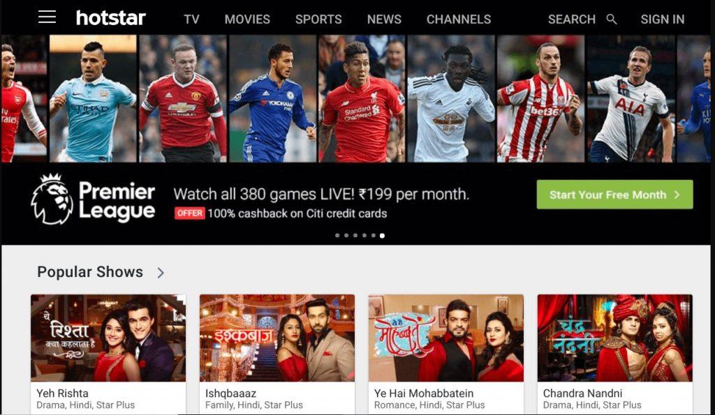 Hotstar - Watch TV Shows Online