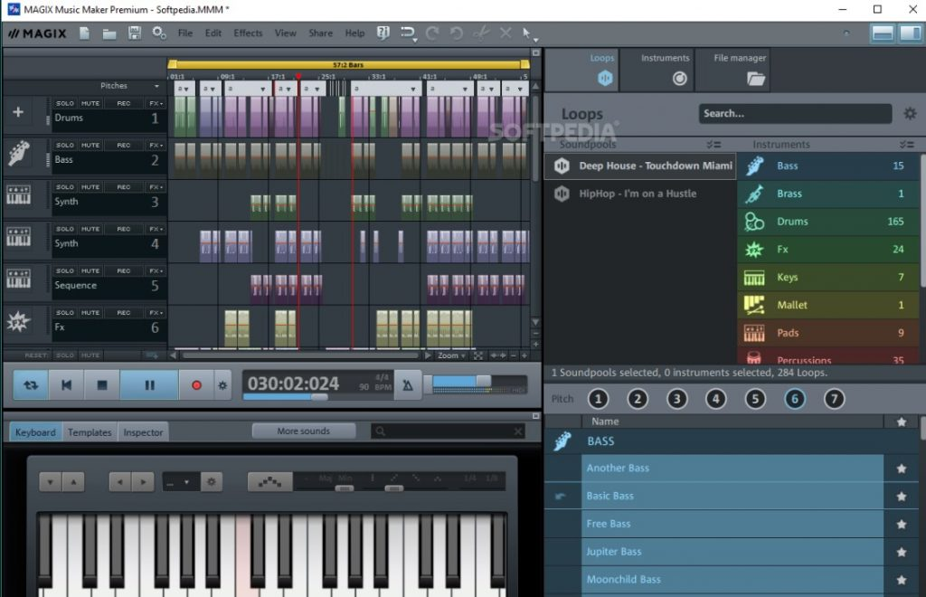 Magix Music Maker - En İyi Beat Yapma Yazılımı