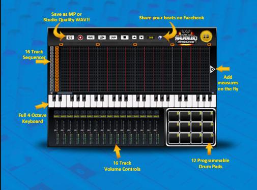 Sonic Producer - Basic Level Beat Making Software