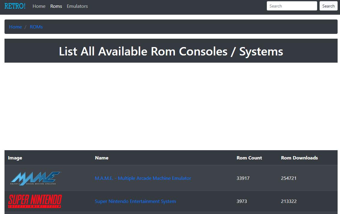 Retrostic - Best Safe ROM Download Site