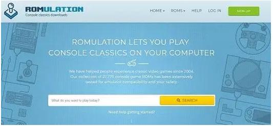 RomUlation - ROM Site