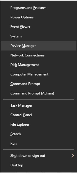 Access The Device Manager