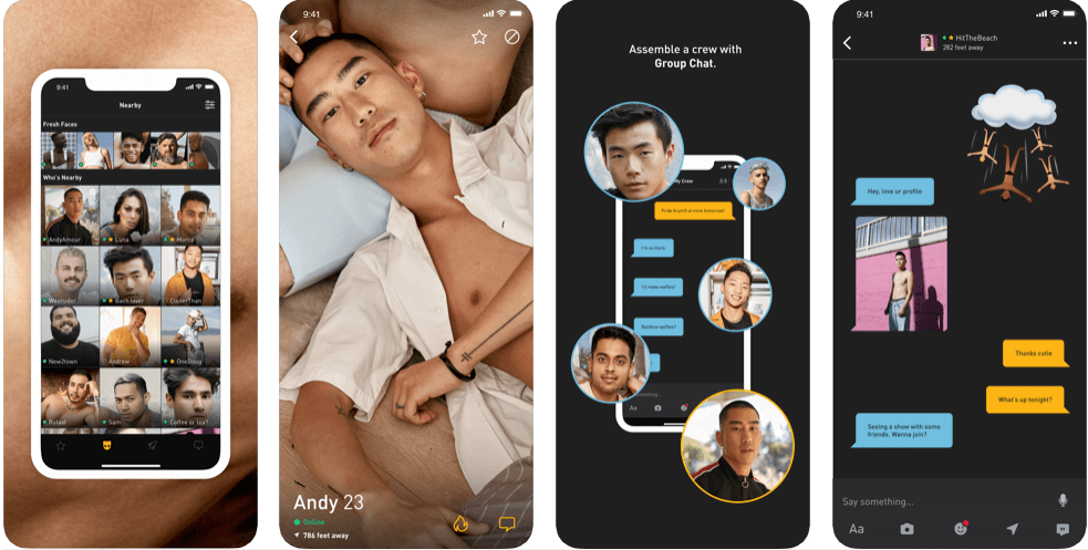 Grindr - iOS and Android