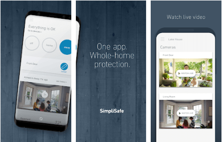 SimpliSafe Home Security App