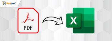 How To Convert PDF To Excel (Online & Offline)
