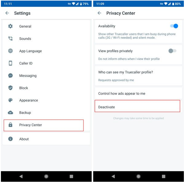 Method to Deactivate Your Truecaller Account For Windows