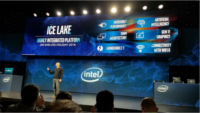 Intel at CES (Consumer Electronics Show) 2020