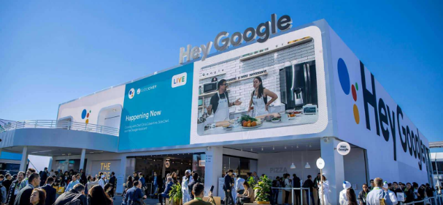 Google at CES (Consumer Electronics Show) 2020