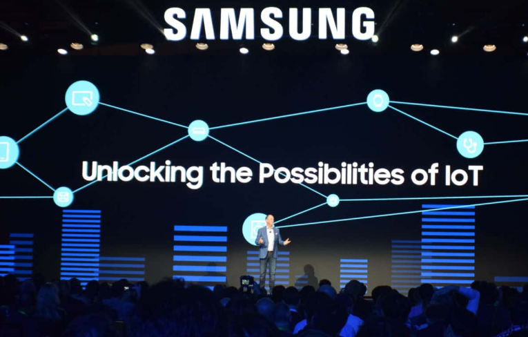 Samsung at CES (Consumer Electronics Show) 2020