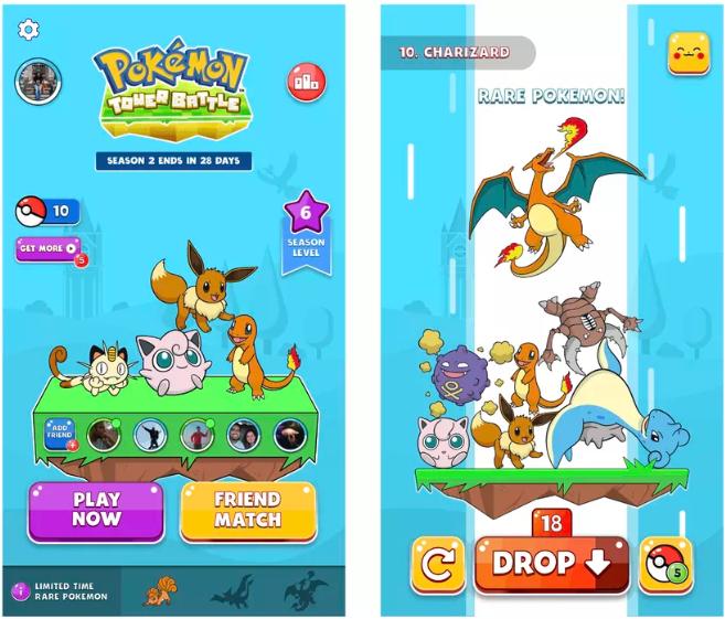 Pokémon Tower Battle Game
