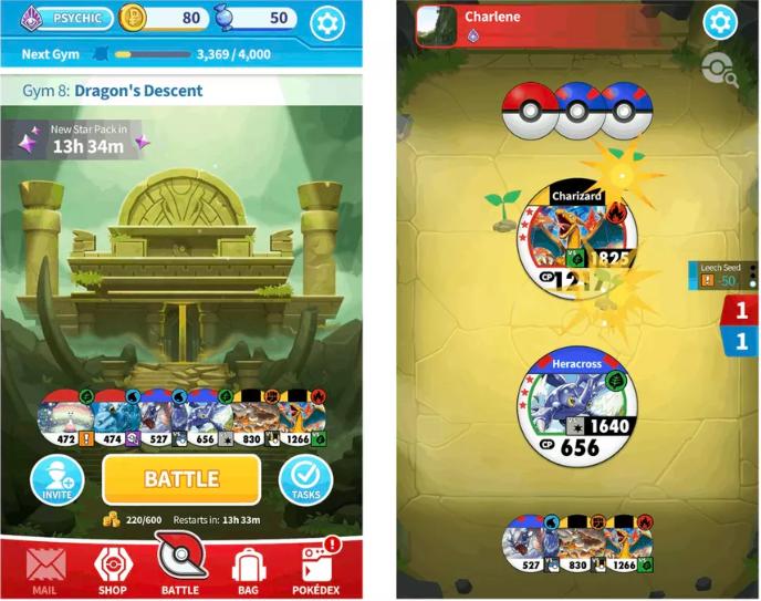 Pokémon Medallion Battle Game