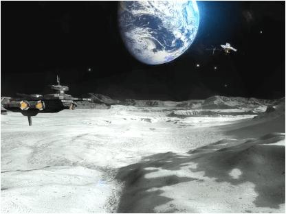 VR Moon Walk 3D