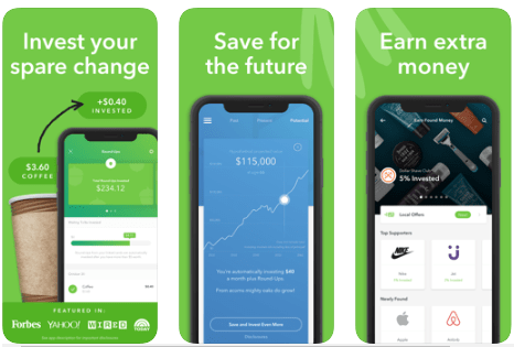 Acorns - Best Stock Trading App