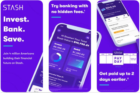 Stash: Banking & Investing App - Best Stock Investment App