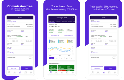 E*Trade Mobile - Android Stock Market App