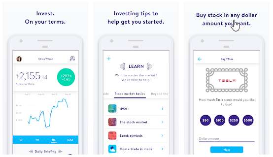 Stockpile - Best stock trading app for beginners and Kids