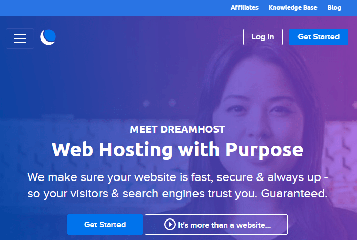 DreamHost - Best Domain Address Providers