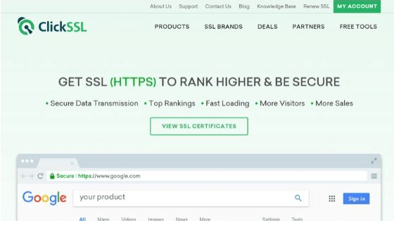 Click SSL - Best and Cheap SSL Certificate Providers